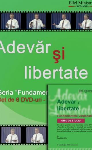 """DVD """"Adevãr şi libertate"""" – 6 DVD + Ghid de studiu"""