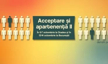 Acceptare și apartenentă II